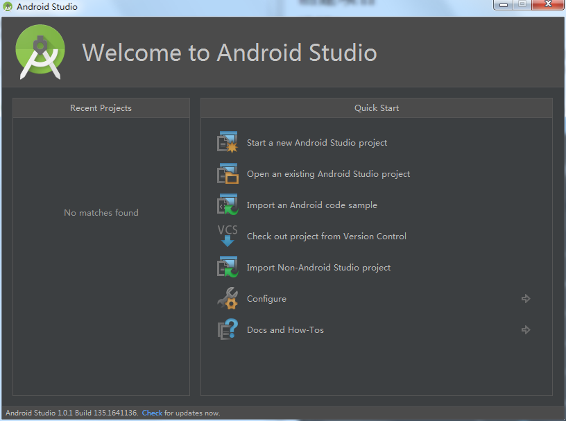 Android Studio创建项目
